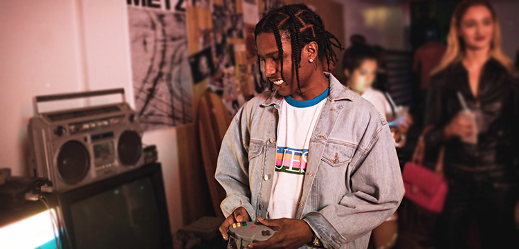 GUESS ORIGINALS × A$AP ROCKY