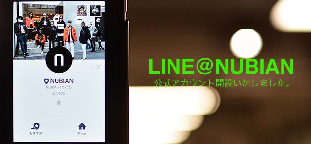 LINE@NUBIAN
